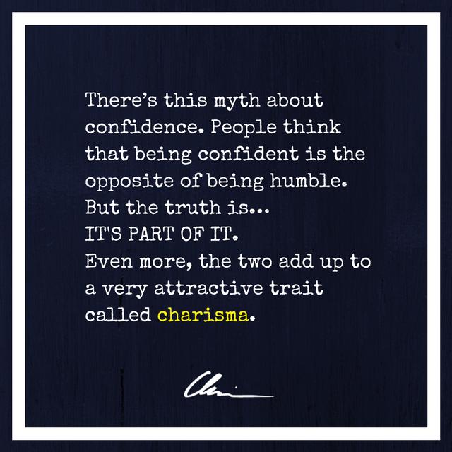 The Secret To Be Confident But Not Arrogant Chrissurelcom