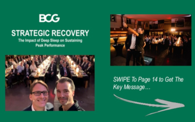 Boston Consulting Group – The Impact of Deep Sleep on Sustaining Peak Performance [Slideshare]