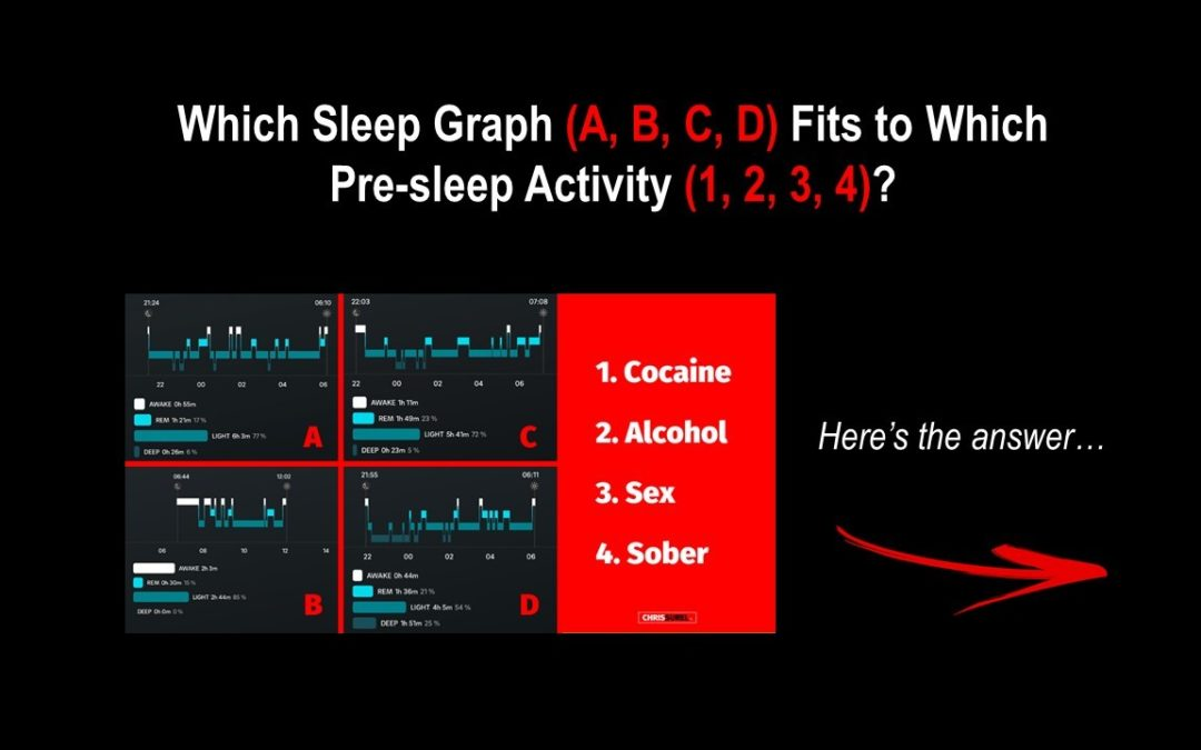 How Cocaine, Alcohol & Sex Destroy Your Deep Sleep [3 Min Read]